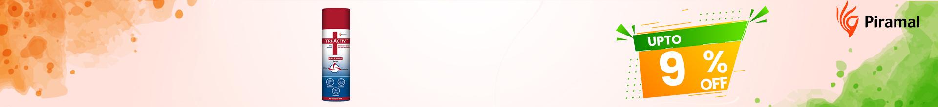 TRI_0015[TRI ACTIV DISINFECTANT SPRAY FOR MULTI SURFACES 230ML]