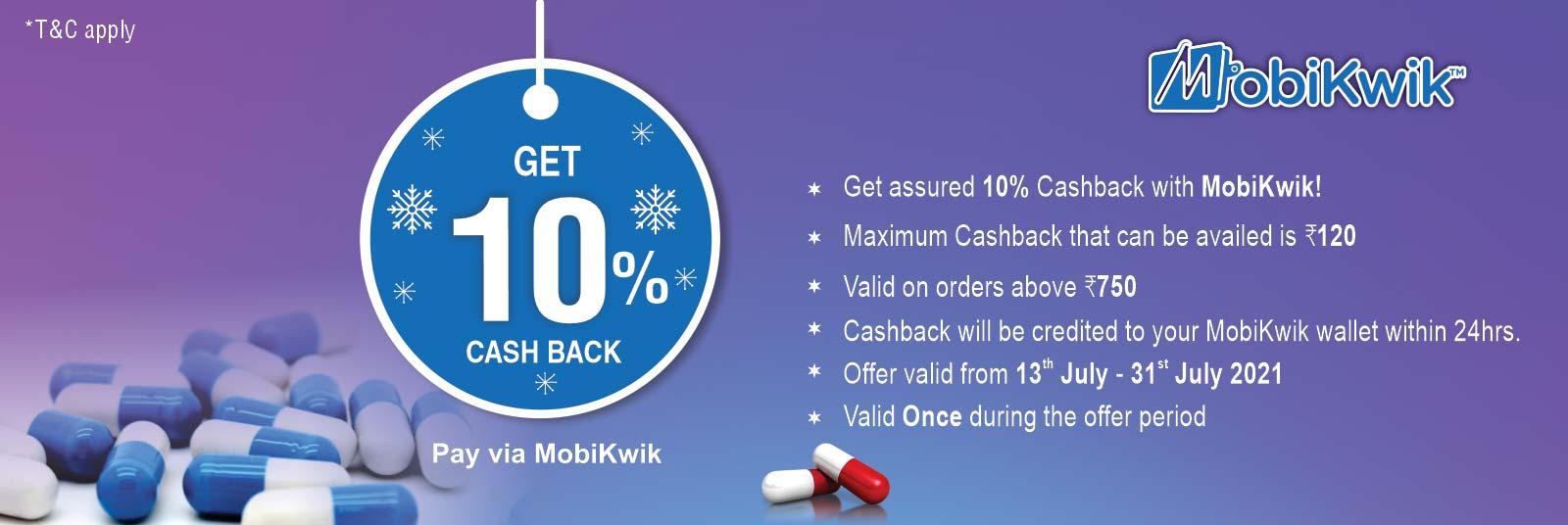 Mobikwik Cash Back