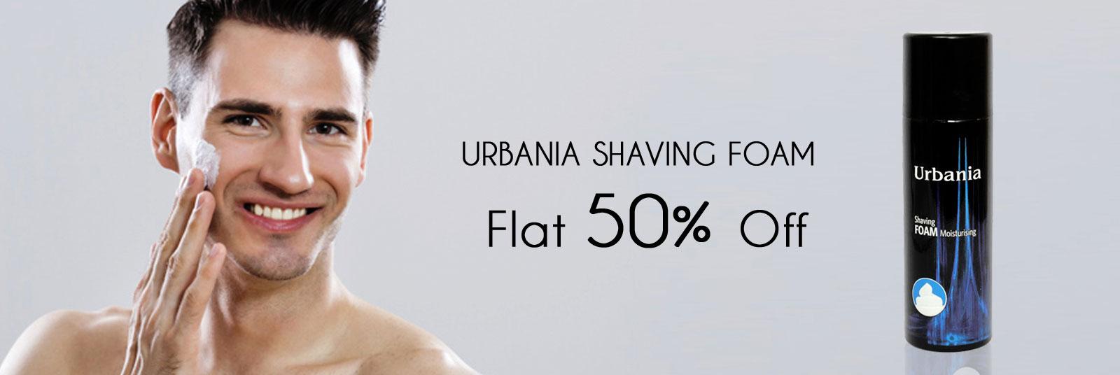 Urbania Shaving Foam