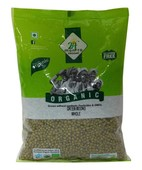 24 MANTRA ORGANIC MOONG WHOLE 500GM