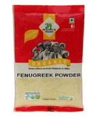 24 MANTRA ORGANIC FENUGREEK POWDER 100GM