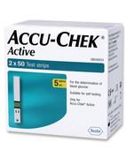 ACCU-CHEK ACTIVE STRIPS 2X50S