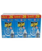 ALL OUT COMBI PACK 60NIGHT REFILL 1X3PCS