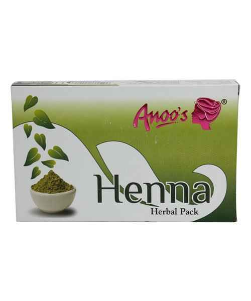 ANOOS HENNA HERBAL PACK 100GM