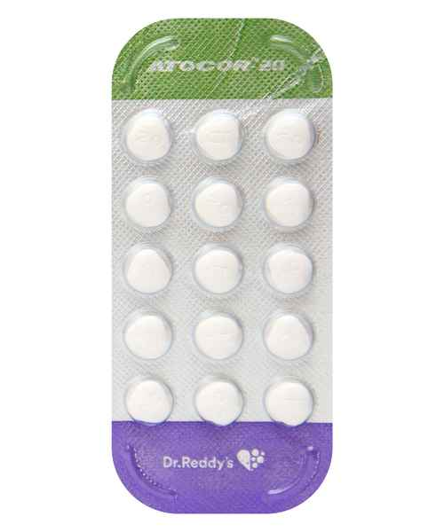 ATOCOR 20MG TAB