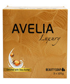 AVELIA LUXURY BEAUTY SOAP 3X125GM