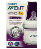 AVENT FEEDING BOTTLE 125ML /40 DEVICE