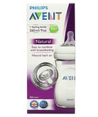 AVENT FEEDING BOTTLE 260ML /9 DEVICE