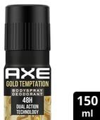 AXE GOLD TEMPTATION DEO 150ML