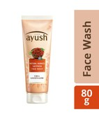 AYUSH NATURAL FAIRNESS SAFFRON FACE WASH 80ML
