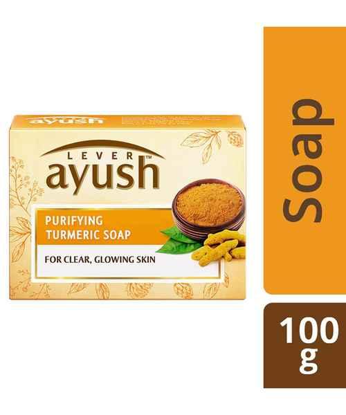 Ayush Purifying Turmeric Soap 100gm Ayush Buy Ayush