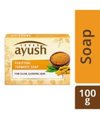AYUSH PURIFYING TURMERIC SOAP 100GM