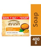 AYUSH PURIFYING TURMERIC SOAP MP 100GX4