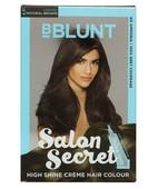 BBLUNT SALON SECRET HIGH SHINE CREME HAIR COLOUR COFFEE NATURAL BROWN 4.31 100GM + 8ML