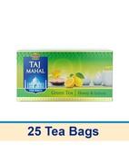 BROOKE BOND TAJMAHAL GREEN TEA HONEY & LEMON 25S TEA BAGS