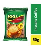 BRU INSTANT COFFEE POUCH 50G