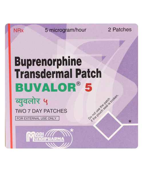BUVALOR TRANSDERMAL 5 PATCH