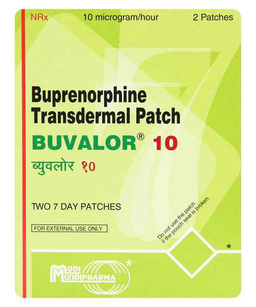 BUVALOR TRANSDERMAL 10 PATCH