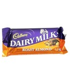 CADBURY DAIRY MILK ROAST ALMOND 40GM