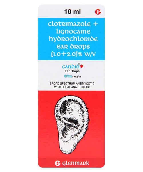 CANDID EAR 10ML DROPS
