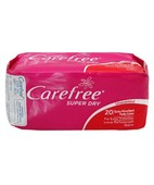 CAREFREE SUPER DRY PANTY LINERS 20'S