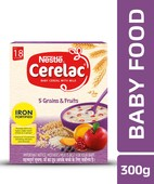 CERELAC 5 GRAINS & FRUTIS 300GM