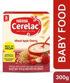 CERELAC STAGE 2 WHEAT APPLE CHERRY 300 GM