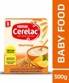CERELAC STAGE 2 WHEAT ORANGE 300 GM