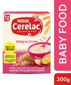 CERELAC STAGE 4 MULTI GRAIN 5 FRUITS 300 GM