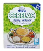 CERELAC STAGE 2 WHEAT RICE MOONG DAL VEG KHICHDI 300 GM