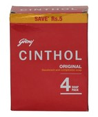 CINTHOL ORIGINAL SOAP 4X100GM