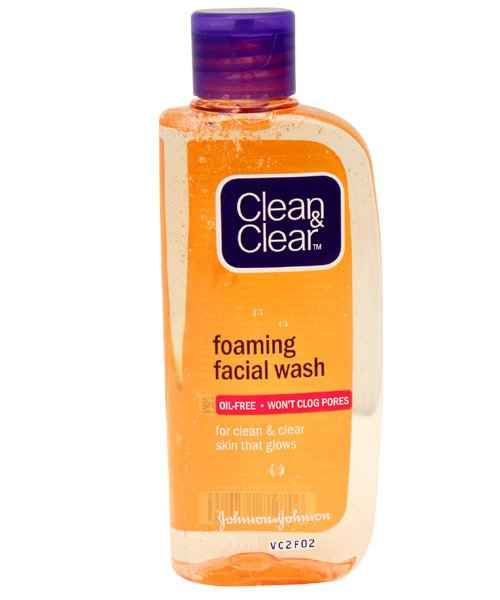 CLEAN AND CLEAR FOAMING FACIAL WASH 50ML