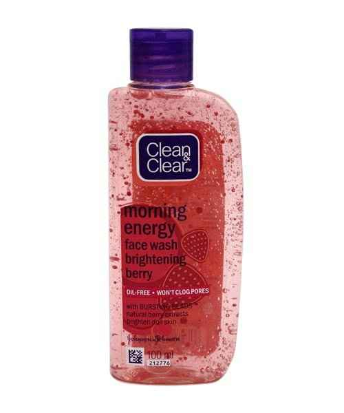 CLEAN AND CLEAR MORNING BURST BERRY FACE WASH 100ML