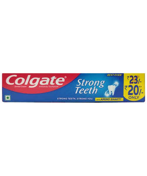 COLGATE STRONG TEETH DENTAL CREAM 50 GM