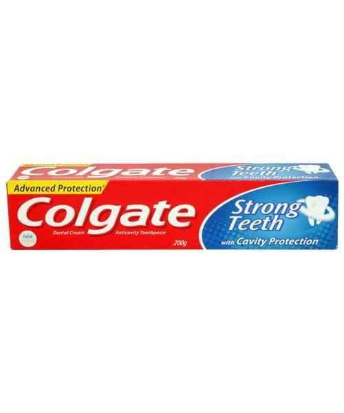 COLGATE STRONG TEETH DENTAL CREAM 200 GM