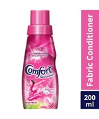 COMFORT FABRIC CONDITIONER PINK LILLY FRESH 200ML