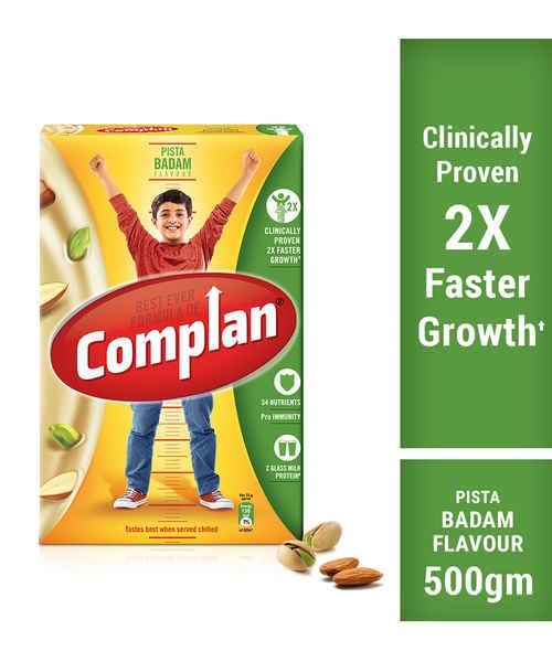 COMPLAN PISTA BADAM REFILL 500GM
