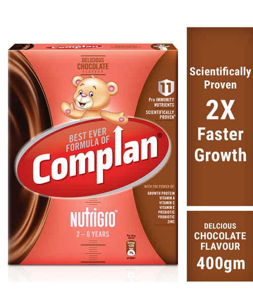 COMPLAN NUTRI GRO CHOCOLATE REFILL 400GM
