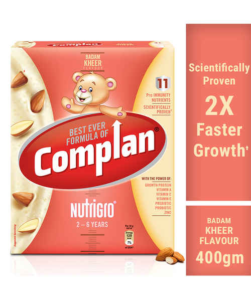 COMPLAN NUTRI GRO BADAMKHEER REFILL 400GM
