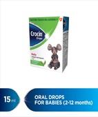 CROCIN BABY 15ML DROPS