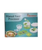 CRYSTAL MANUAL FOOD PROCESSOR