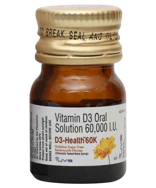 D3 HEALTH 60K 5ML SYP