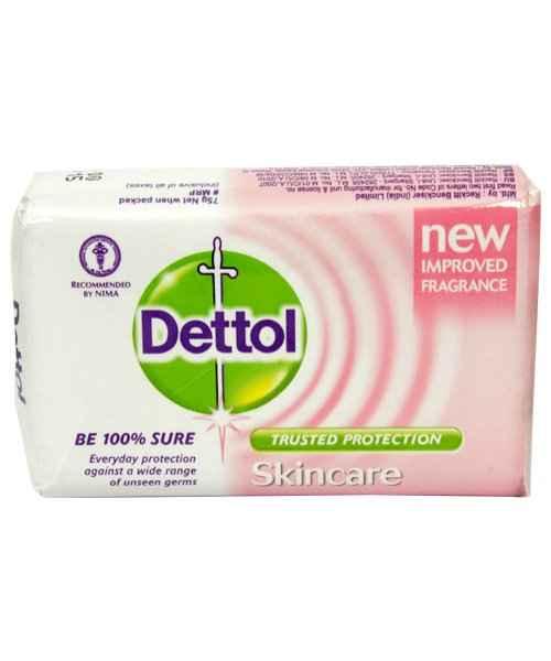 DETTOL SKINCARE BAR SOAP 75GM