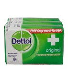 DETTOL ORIGINAL SOAP 3X75GM