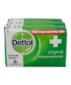 DETTOL ORIGINAL SOAP 3X75GM