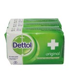 DETTOL ORIGINAL SOAP 125GM 3S