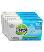DETTOL COOL SET SOAP 3X125GM