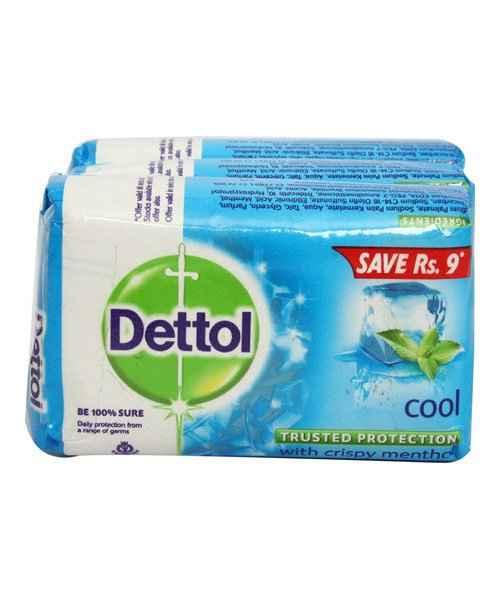 DETTOL COOL SOAP 3X75GM