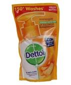 DETTOL RE-ENERGIZE HANDWASH POUCH 185ML