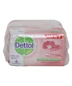 DETTOL SKIN CARE SOAP 6X75GM
